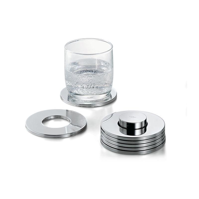Philippi - Rings - 6 podkładek pod szklanki - średnica: 9,5 cm