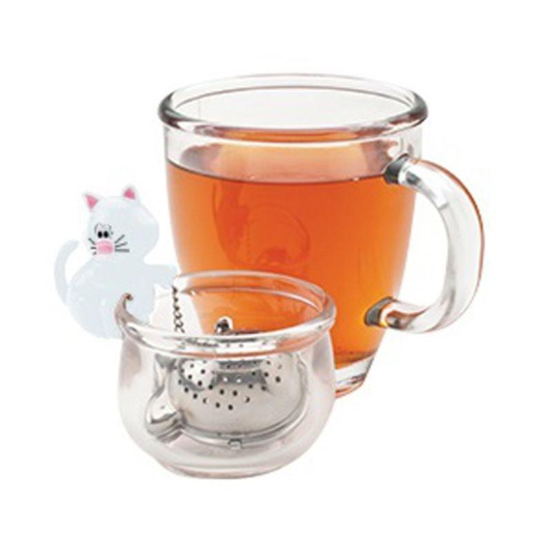 MSC - Meow - zaparzacz do herbaty z miseczką - średnica: 4 cm
