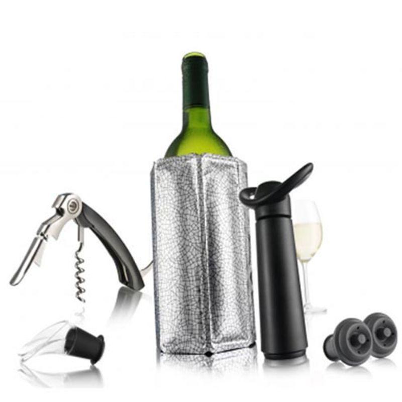 Vacu Vin - zestaw akcesoriów do wina - 6 elementów