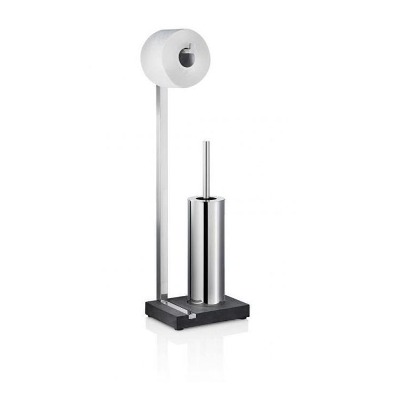 Blomus - Menoto - stojak na papier toaletowy ze szczotką do WC - wysokość: 64,5 cm