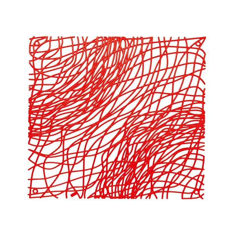 Koziol - Silk - dekoracja - wymiary: 27 x 27 cm