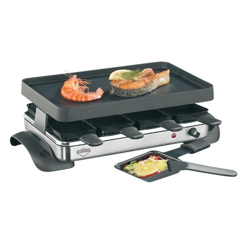 Küchenprofi - Exclusive - raclette - grill stołowy - 8 elementów