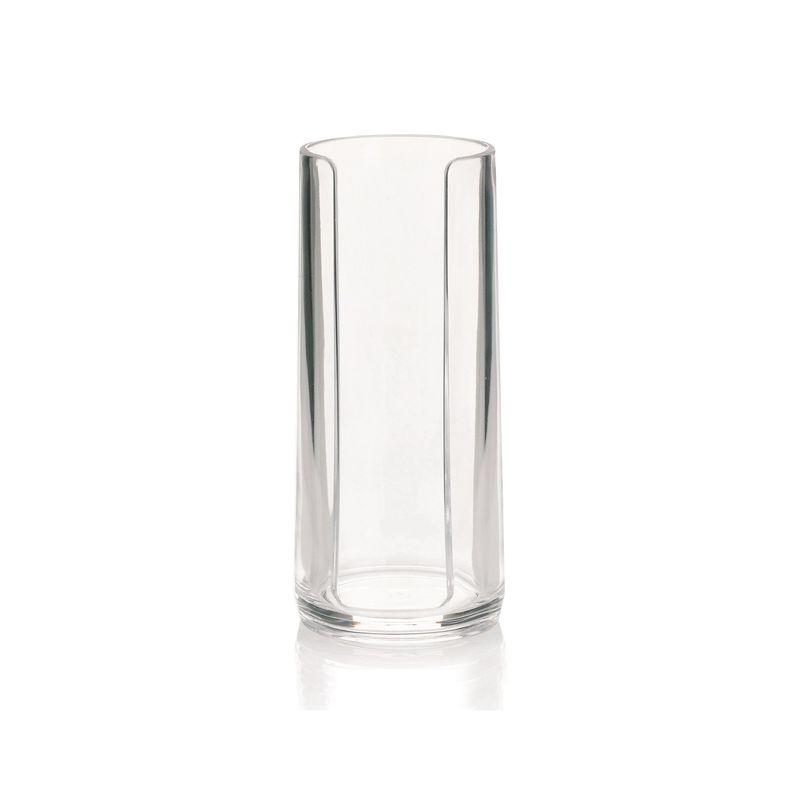 Kela - Clear - pojemnik na płatki kosmetyczne - wysokość: 17 cm