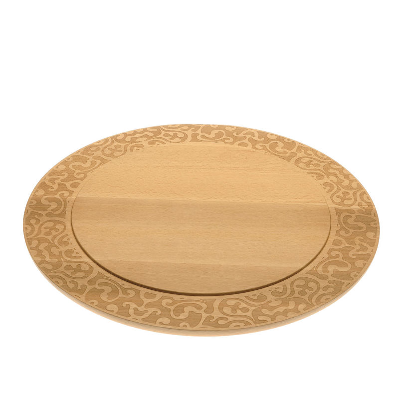 Alessi - Dressed in wood - deska do sera - średnica: 41,8 cm
