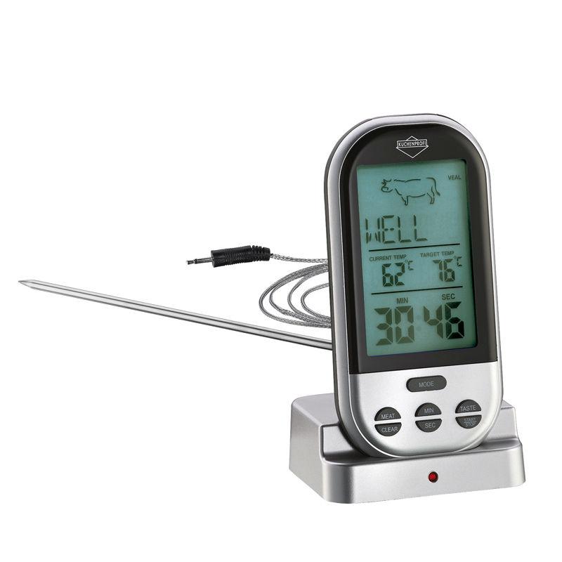 Küchenprofi - Profi - elektroniczny termometr do mięsa - wysokość: 11,5 cm