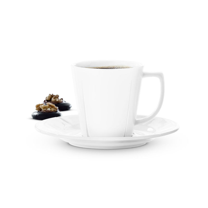 Rosendahl - Grand Cru - filiżanka do kawy ze spodkiem - pojemność: 0,26 l