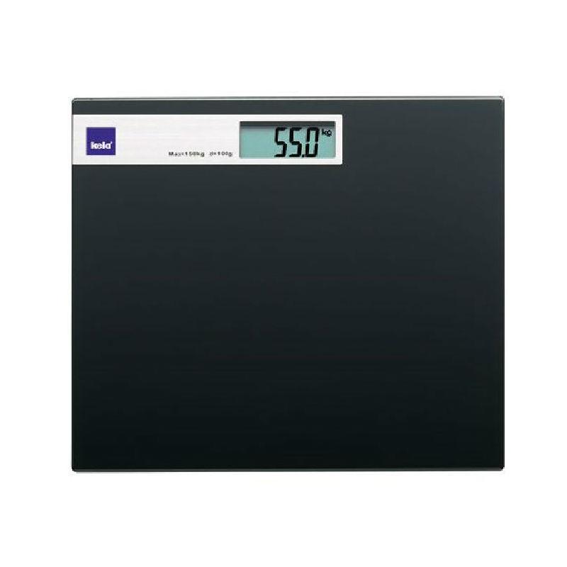 Kela - Graphit - waga łazienkowa - wymiary: 30 x 30 cm