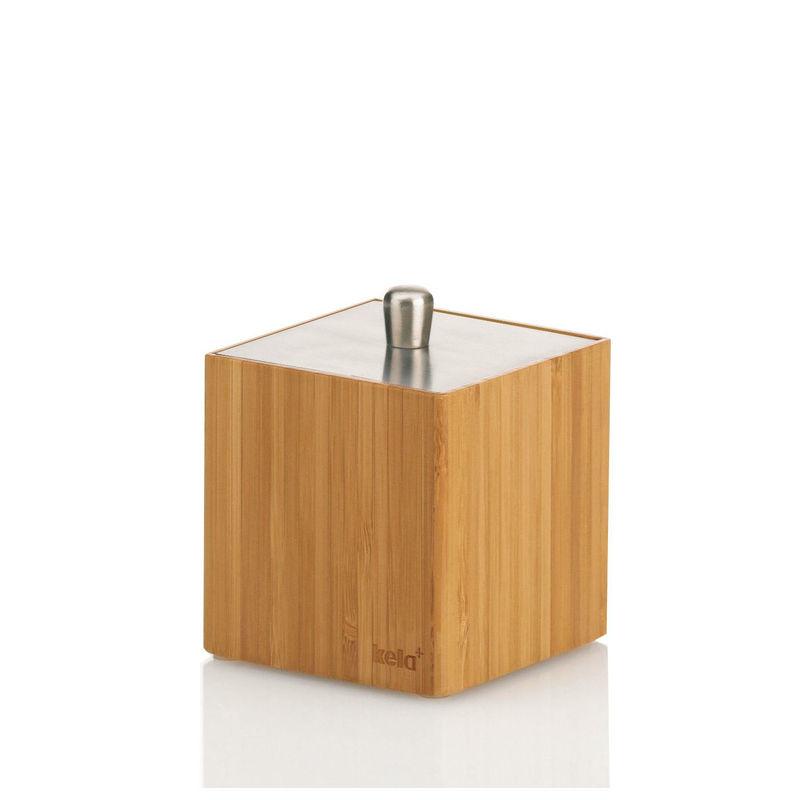 Kela Bambus Pojemnik Kosmetyczny Z Przykrywką