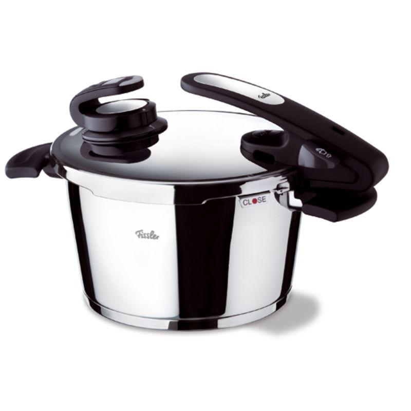 Fissler - Vitavit Edition design - szybkowar + wkład do gotowania na parze - średnica: 22 cm; pojemność: 4,5 l