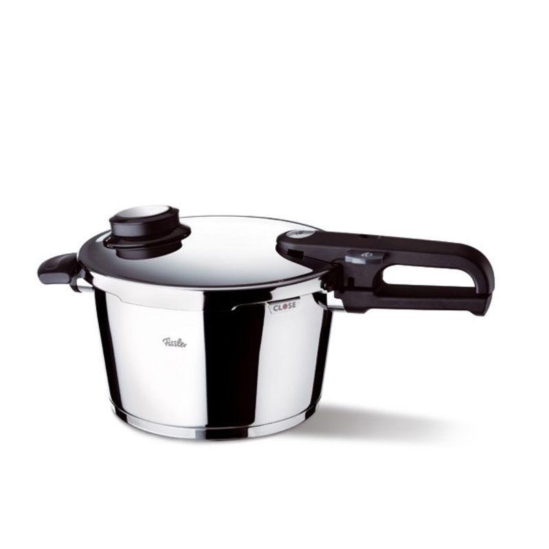 Fissler - Vitavit Premium - szybkowar + wkład do gotowania na parze - średnica: 22 cm; pojemność: 3,5 l
