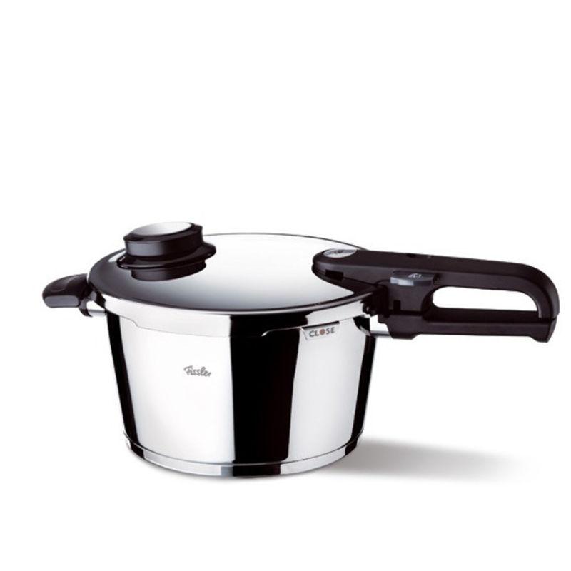 Fissler - Vitavit Premium - szybkowar + wkład do gotowania na parze - średnica: 26 cm; pojemność: 8,0 l