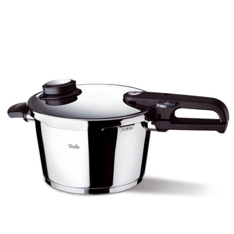 Fissler - Vitavit Premium - szybkowar + wkład do gotowania na parze - średnica: 26 cm; pojemność: 10,0 l