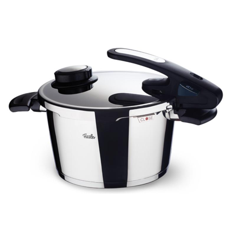 Fissler - Vitavit Edition design - szybkowar + wkład do gotowania na parze - średnica: 22 cm; pojemność: 6,0 l