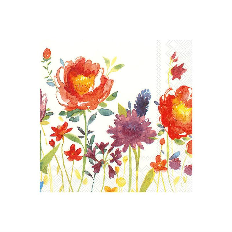 Villeroy & Boch - Anmut Flowers - serwetki papierowe - wymiary: 33 x 33 cm