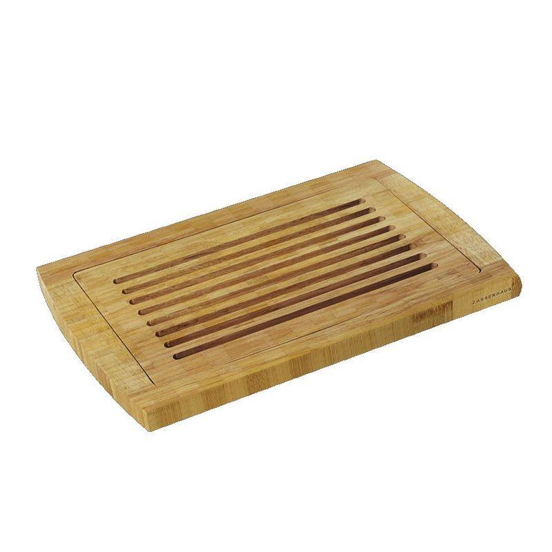 Zassenhaus - Bambus - deska do krojenia pieczywa - wymiary: 42 x 28 cm