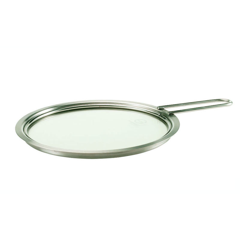Eva Solo - White Line - pokrywa stalowo-szklana - średnica: 20 cm