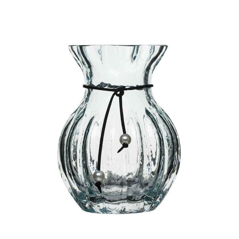 Sagaform - SEA Glasbruk - wazon - wysokość: 17 cm