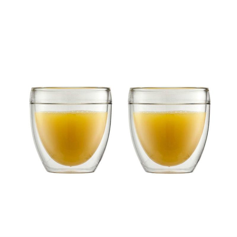 Bodum - Pavina Outdoor - 2 szklanki o podwójnych ściankach - pojemność: 0,25 l