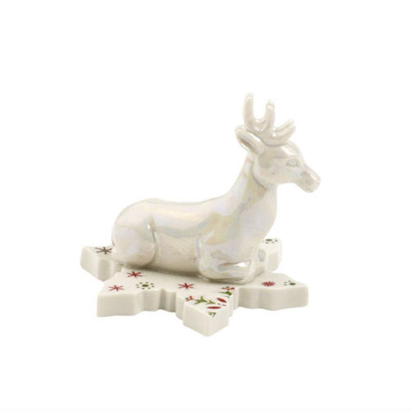 Villeroy & Boch - NewModern Christmas - jeleń na płatku śniegu - wysokość: 4,5 cm