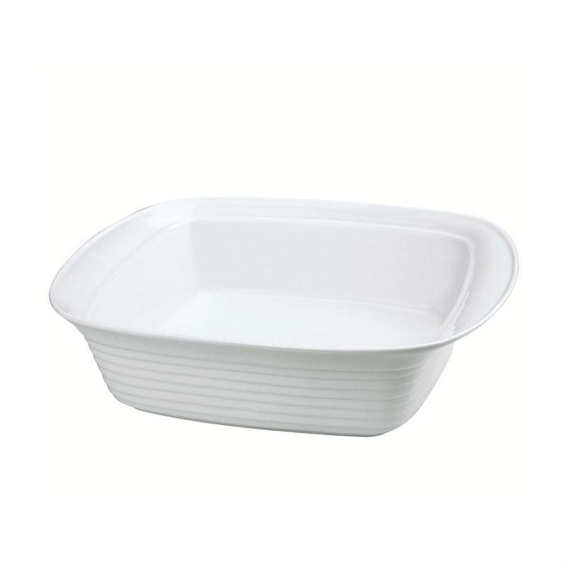 Küchenprofi - Burgund - kwadratowe naczynie na lasagne - wymiary: 35 x 35 cm