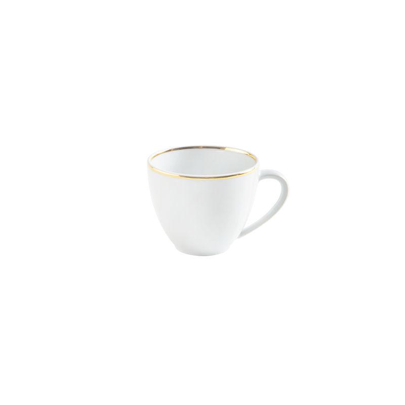 Kahla - Magic Grip Dîner Line of Gold - filiżanka do kawy - pojemność: 0,21 l