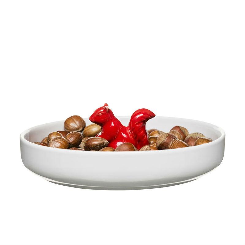 Sagaform - Winter - miska z wiewiórką - średnica: 19 cm