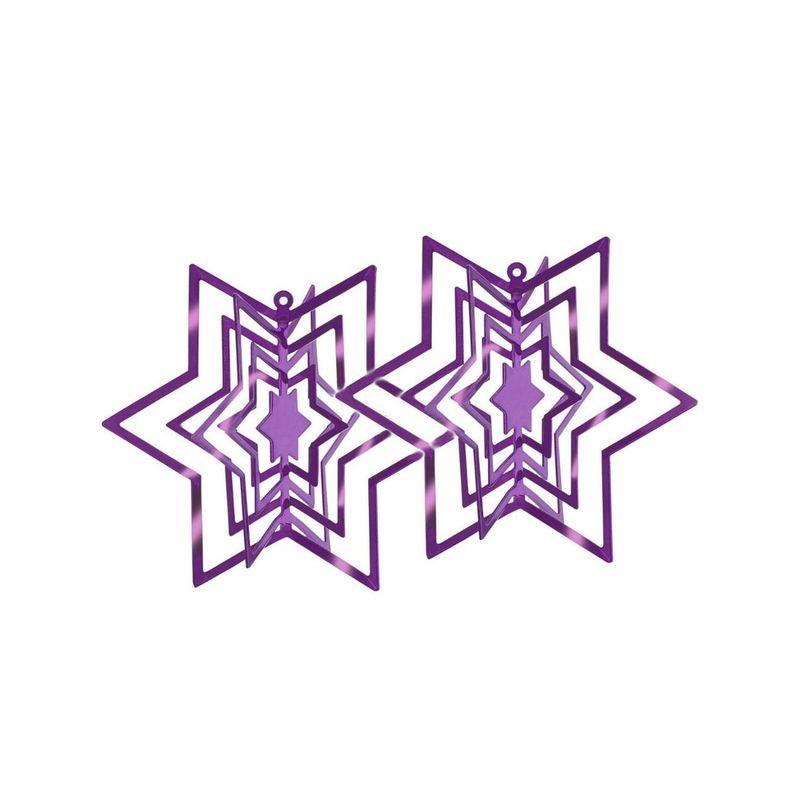 Philippi - Star - 2 zawieszki gwiazdki - wysokość: 6 cm