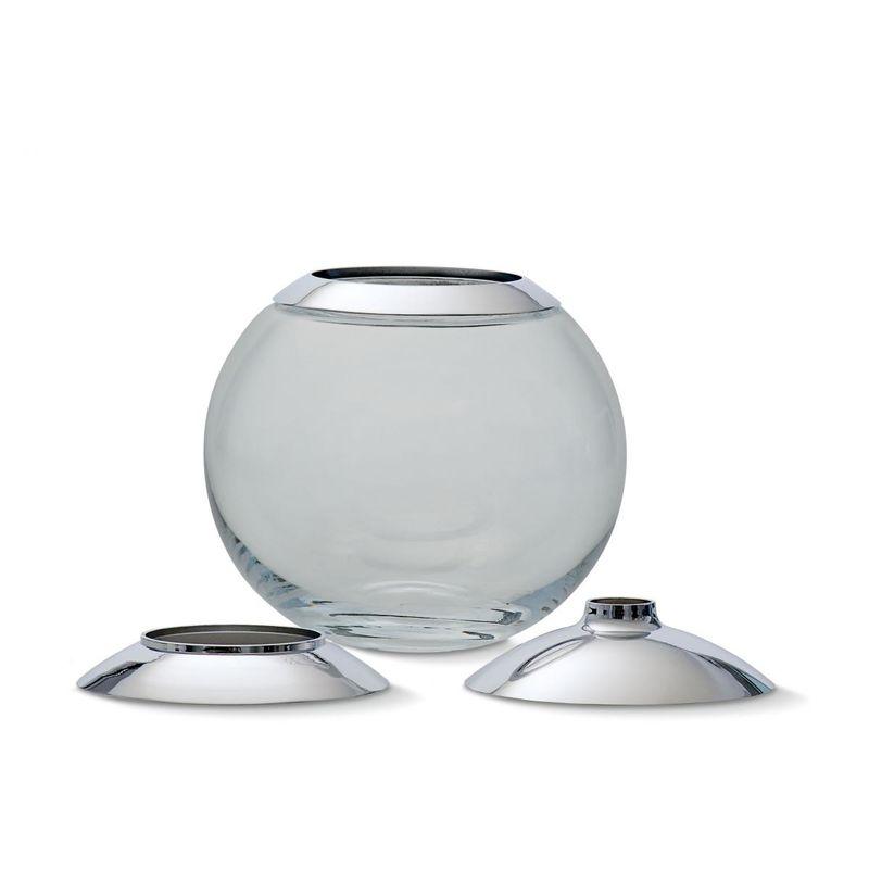 Philippi - Globo - wazon z 3 nakładkami - średnica: 15 cm