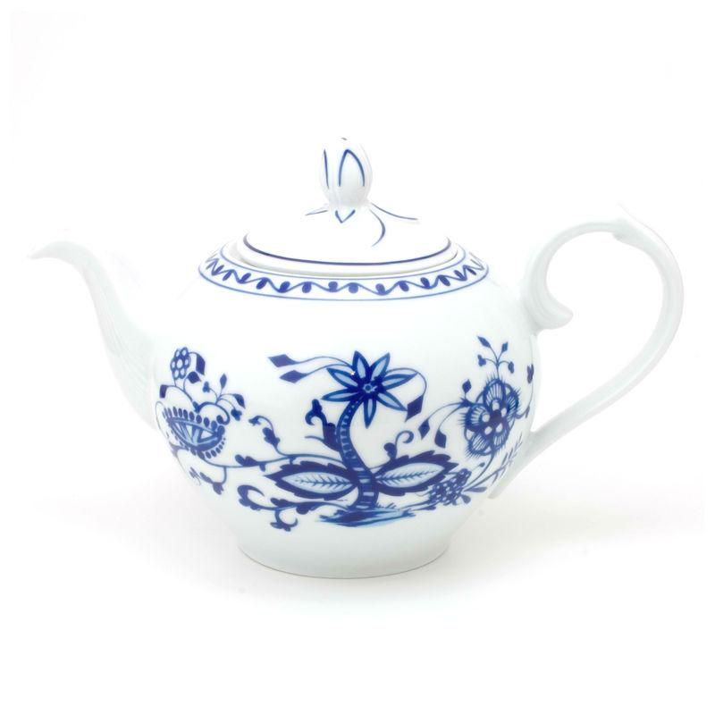 Kahla - Rossella Zwiebelmuster - dzbanek do herbaty - pojemność: 1,2 l