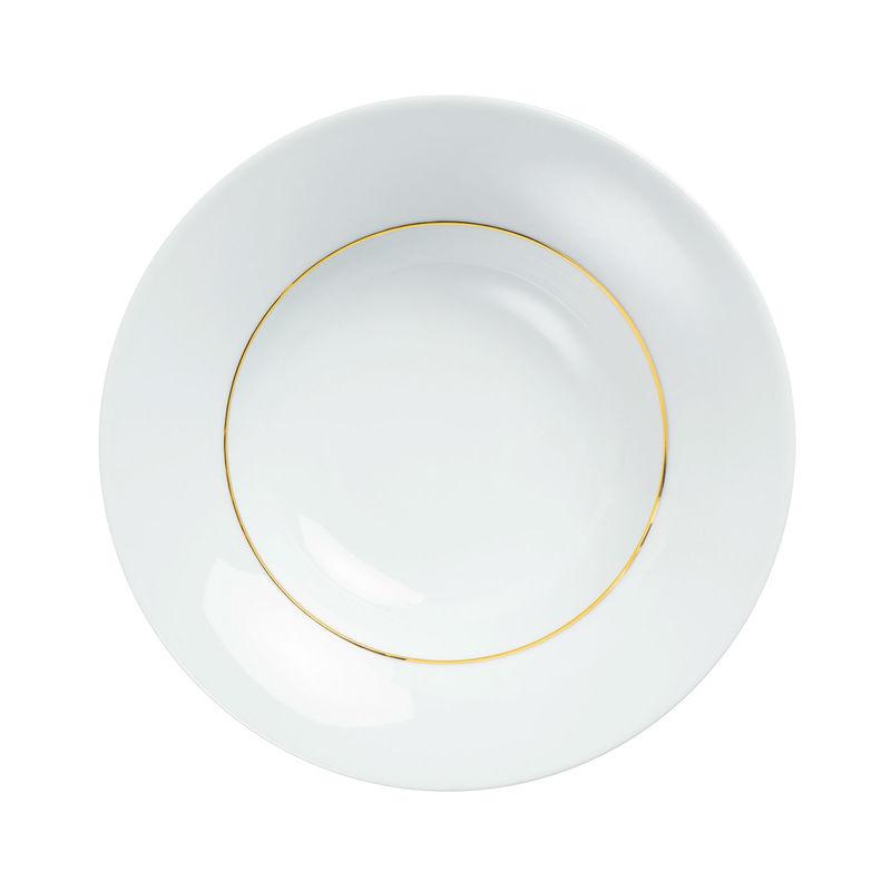 Kahla - Magic Grip Dîner Line of Gold - talerz głęboki - średnica: 24 cm