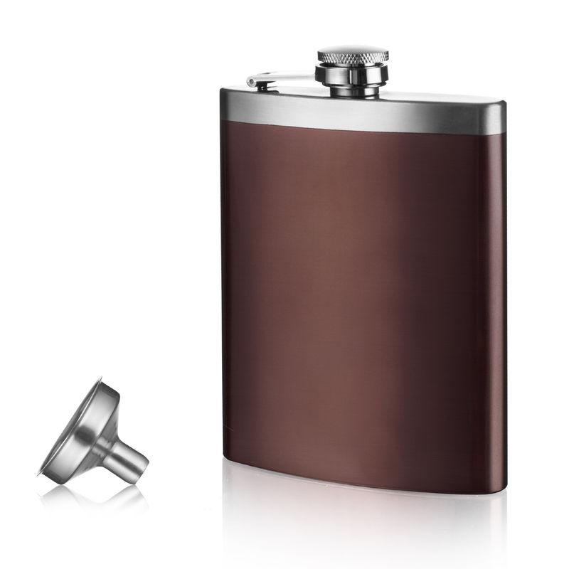 Vacu Vin - piersiówka z lejkiem do alkoholu - pojemność: 0,21 l