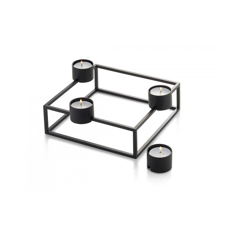 Philippi - Cubo - świecznik lub podgrzewacz - wymiary: 20 x 20 x 9 cm