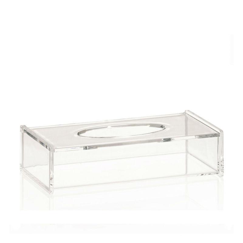 Kela - Clear - pojemnik na chusteczki - wymiary: 26 x 13,5 x 6,5 cm
