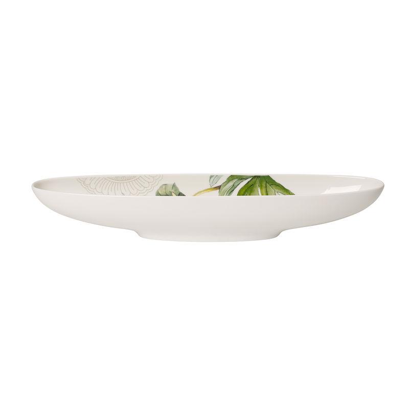 Villeroy & Boch - Quinsai Garden - owalna miska - wymiary: 29 x 7 cm