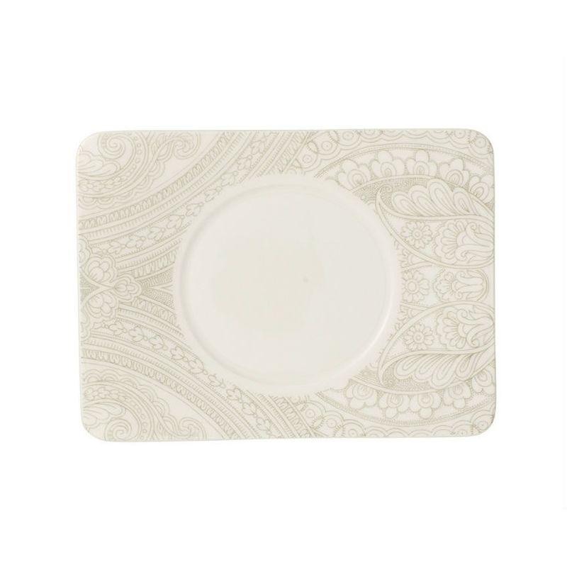 Villeroy & Boch - Quinsai Garden - spodek do filiżanki do herbaty - wymiary: 17 x 14 cm
