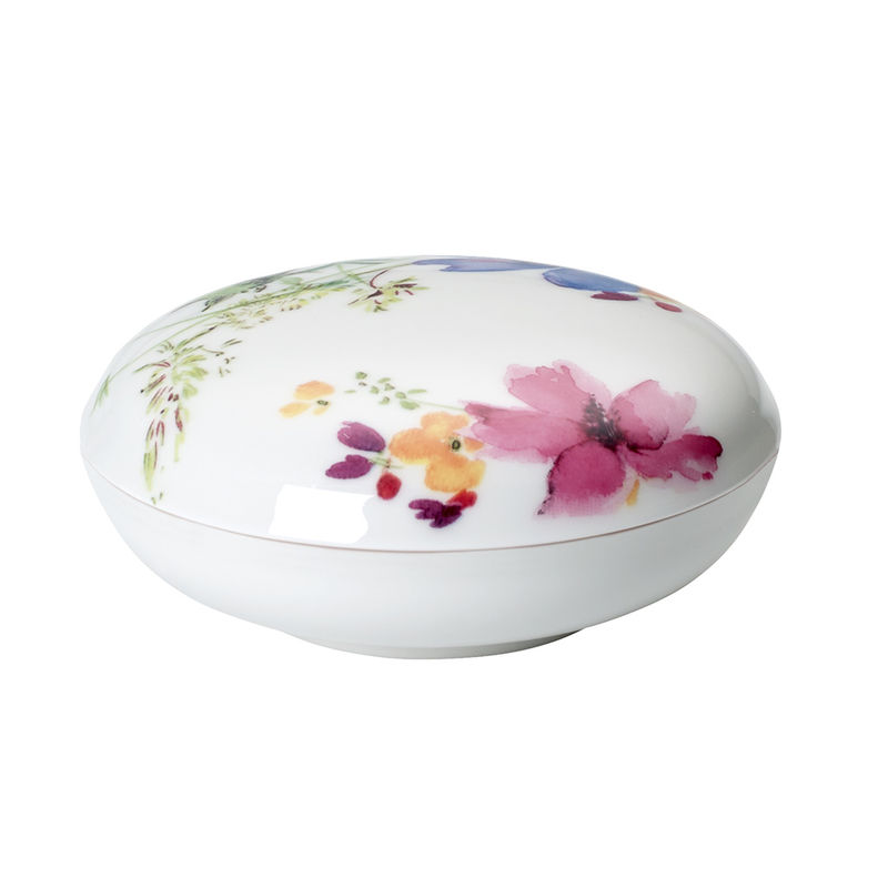 Villeroy & Boch - Mariefleur Gifts - dekoracyjne pudełko - średnica: 11 cm