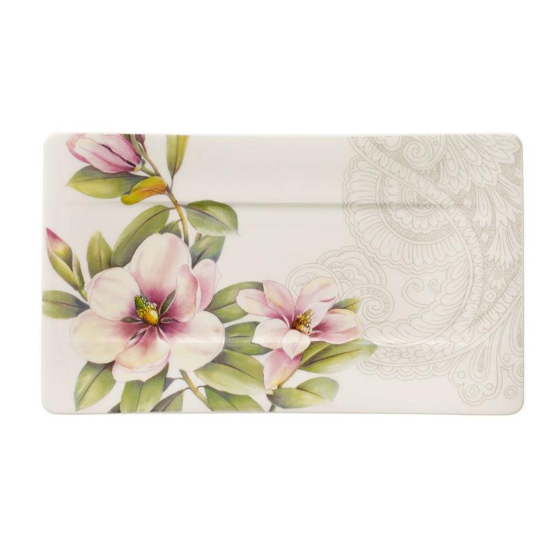Villeroy & Boch - Quinsai Garden - talerz do serwowania - wymiary: 24 x 14 cm