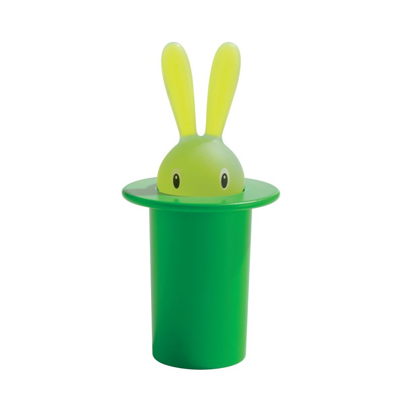 A di Alessi - Magic Bunny - pojemnik na wykałaczki - wysokość: 14 cm