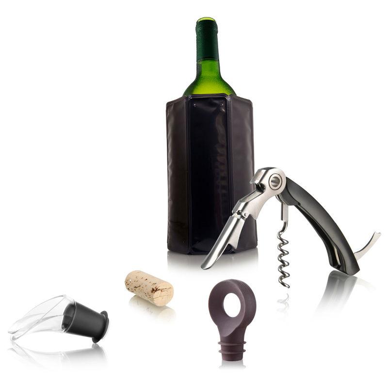 Vacu Vin - zestaw do wina Starter - 6 elementów