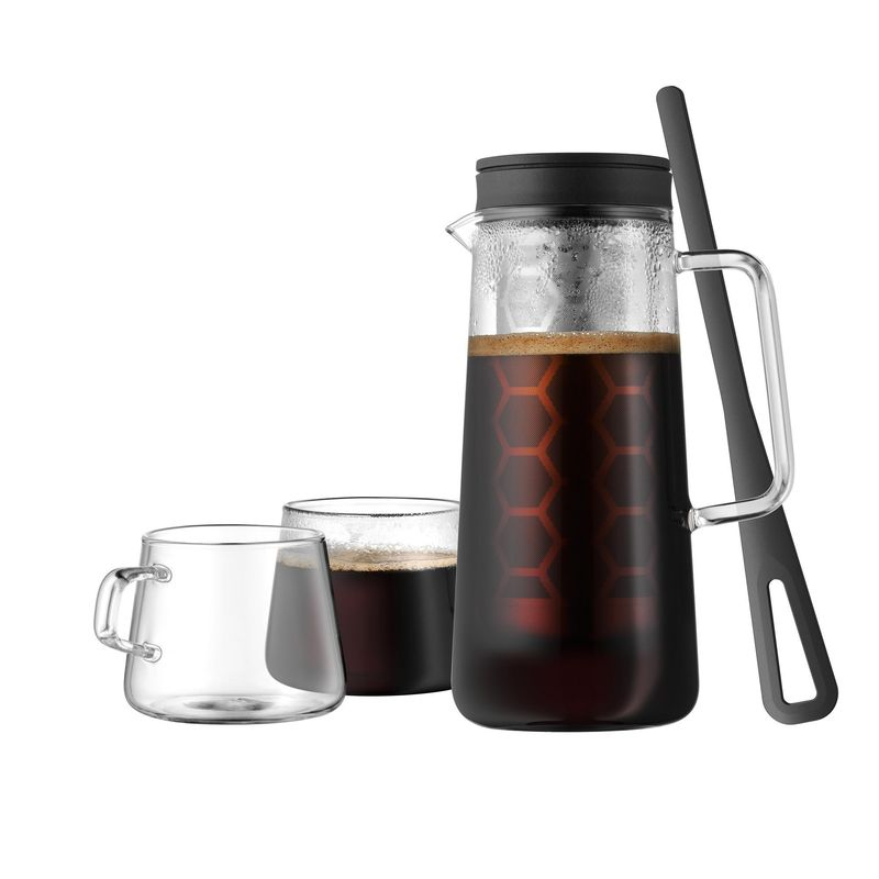 WMF - Coffee Time - zaparzacz do z kawy i 2 filiżanki - pojemność: 0,7 l i 0,25 l