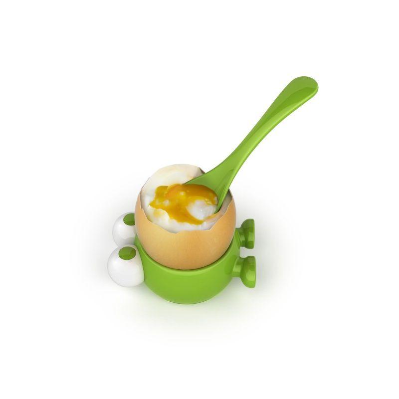 MSC - Egg Watcher - kieliszek i łyżeczka do jajek
