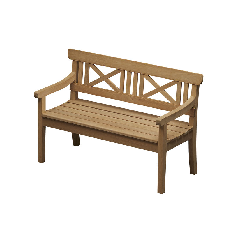 Skagerak - Drachmann - ławka ogrodowa - wymiary: 129 x 58 x 86 cm