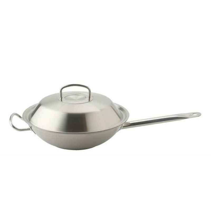 Fissler - original-profi collection - wok z pokrywą - średnica: 30 cm
