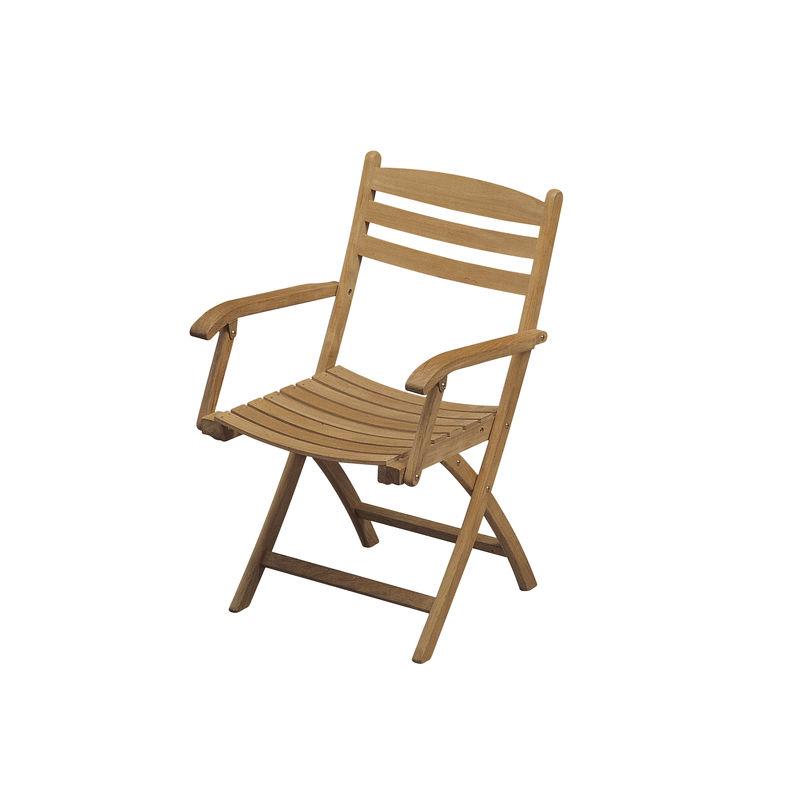 Skagerak - Selandia - krzesło ogrodowe - wymiary: 56 x 58 x 88 cm