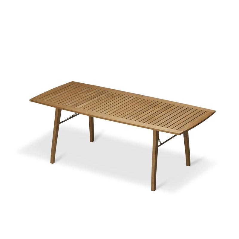 Skagerak - Ballare - stół jadalniany - wymiary: 90 x 196/296 x 73 cm