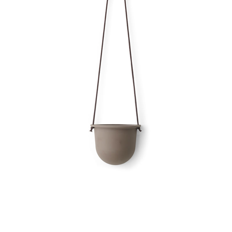 Menu - Vessel - wisząca doniczka lub pojemnik - wymiary: 13 x 16 x 8 cm