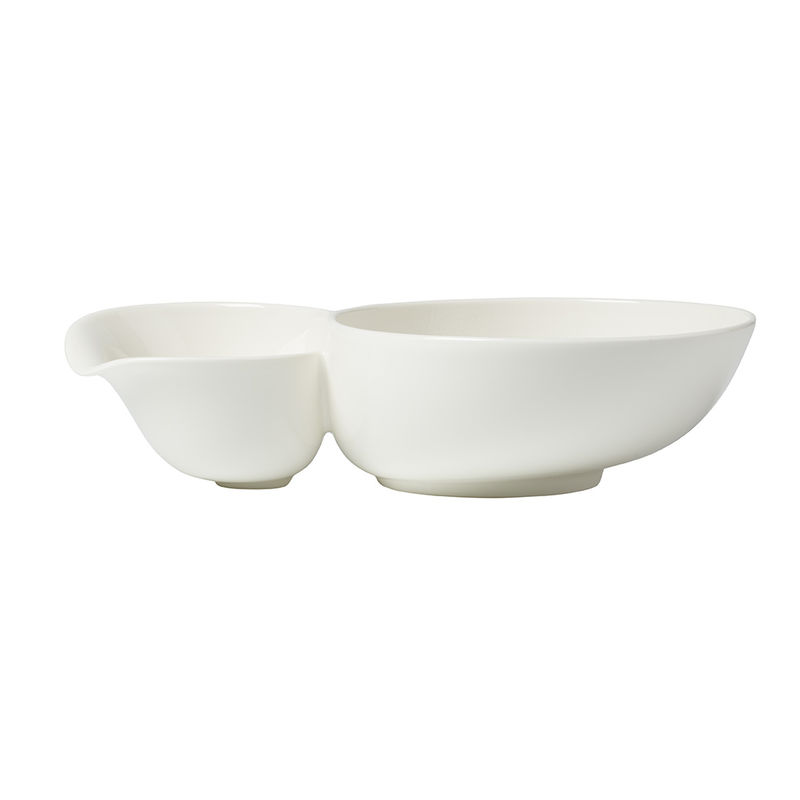 Villeroy & Boch - Soup Passion - podwójna miska na zupę - wymiary: 27,5 x 17,3 x 6,8 cm