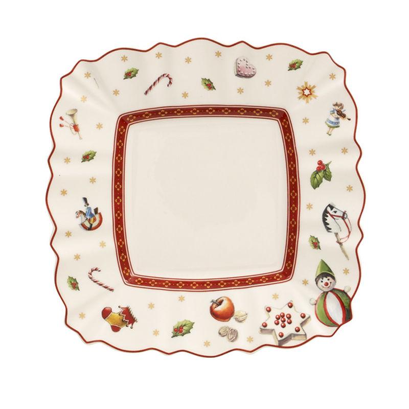 Villeroy & Boch - Toy's Delight - kwadratowy talerzyk deserowy - wymiary: 17 x 17 cm