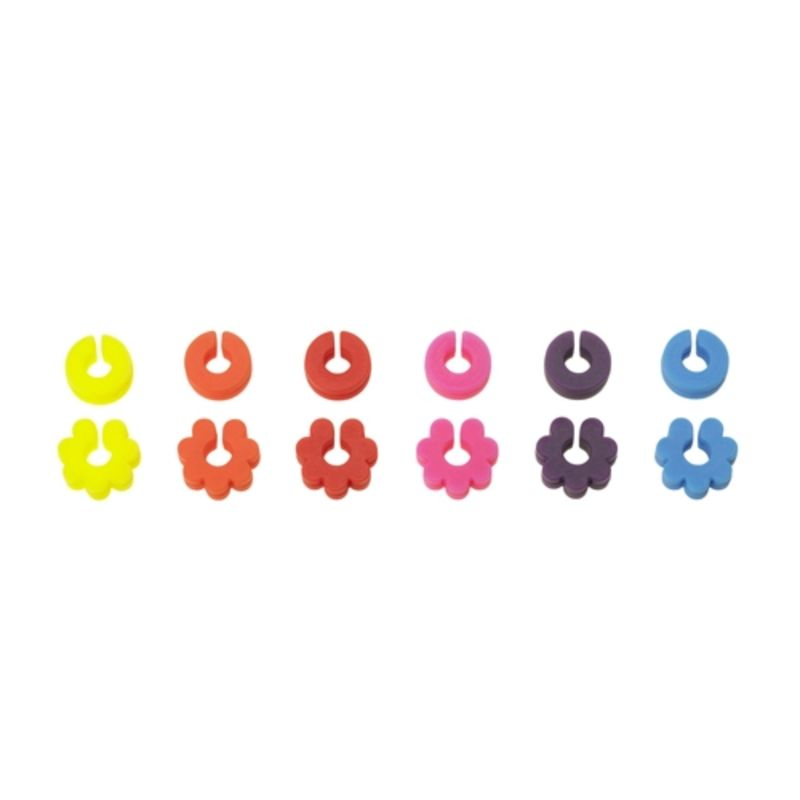 Lurch - silikonowe znaczki do kieliszków i szklanek - 12 sztuk