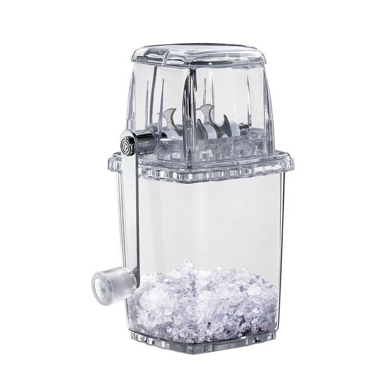 Cilio - ręczna kruszarka do lodu - wymiary: 11,5 x 11,5 x 23 cm